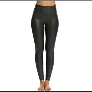 Spanx Faux Leather Leggings - Size S